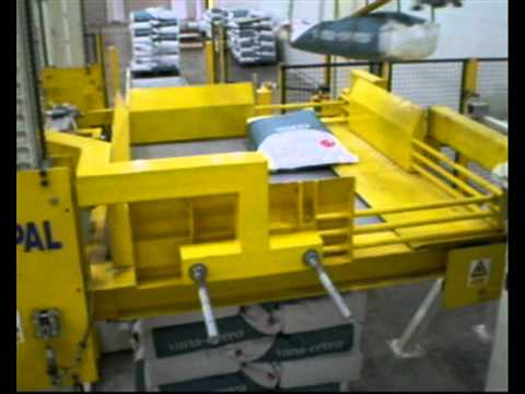 K-PAL Robotic Bag Palletiser