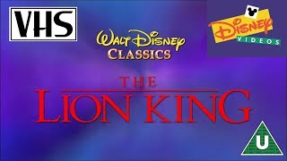 Video Opening to The Lion King UK VHS (1995) MP3, 3GP, MP4, WEBM, AVI, FLV Oktober 2018