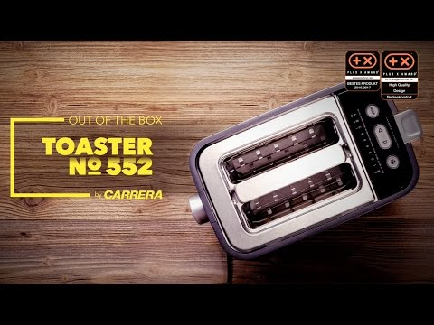 Unboxing CARRERA Toaster No.552