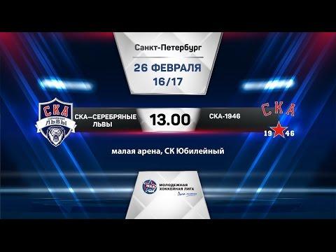 СКА-Серебряные Львы - СКА-1946 26.02.2017 - DomaVideo.Ru