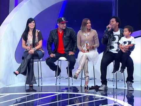 Raul Gil - Banquinho especial gospel com Thalles e Fernanda Brum