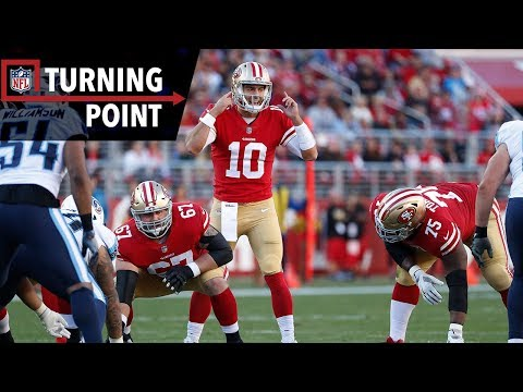 Video: Jimmy Garoppolo Has the 49ers Looking Good on Game-Winning Drive (Week 15) | NFL Turning Point