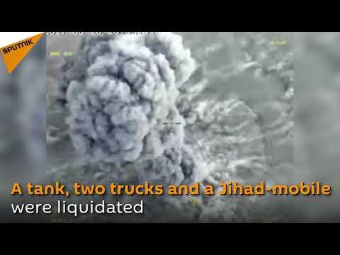 Video - Νεκροί 200 τζιχαντιστές στη Συρία από ρωσικά μαχητικά