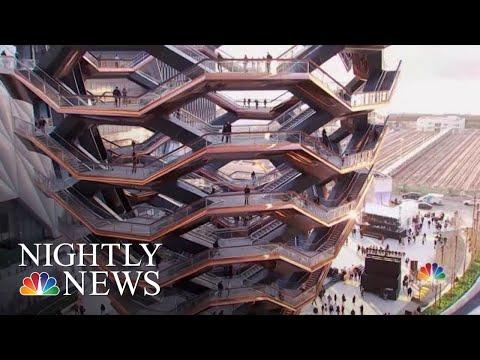 New York Debuts Massive Art Park, New Neighborhood | NBC Nightly News
