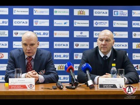 """Пресс-конференция - """"Автомобилист"""" 5:2 """"Трактор"""" (10.11.2015)"""