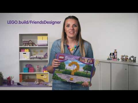 Contest intro video for parents - LEGO Friends Designer - LEGO Friends