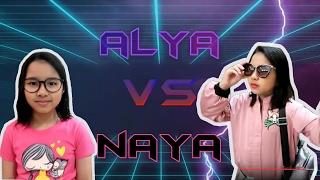 Video Alya VS Naya Part 1 (Just For Fun) MP3, 3GP, MP4, WEBM, AVI, FLV Juni 2017
