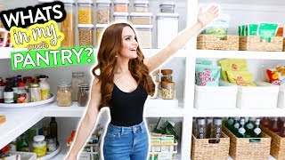 Video Whats In My BIG Organized Pantry?! MP3, 3GP, MP4, WEBM, AVI, FLV Agustus 2019