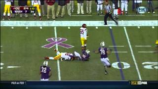 Dion Bailey vs Washington (2012)