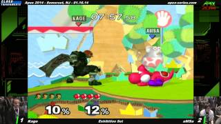 One of my Favorite Sets of All Time. Apex 2014 Kage (Ganon) vs Amsa (Yoshi)