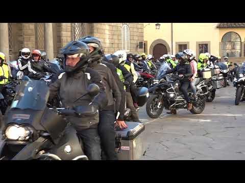 Ad Arezzo il primo raduno turistico di moto BMW