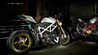 7. Custom Ducati streetfighter S by Damian Dabrowski