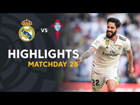 Highlights Real Madrid vs RC Celta (2-0) - Thời lượng: 91 giây.