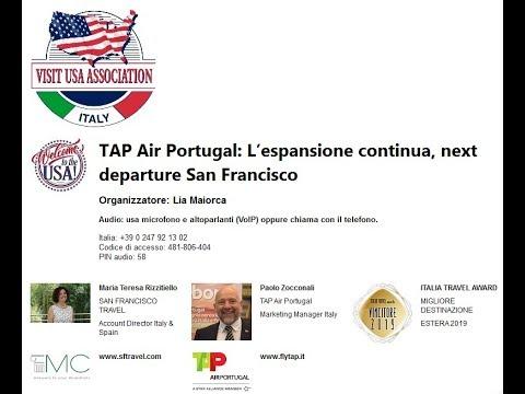 Video TAP Air Portugal L'espansione continua, next departure San Francisco (9-5-2019)