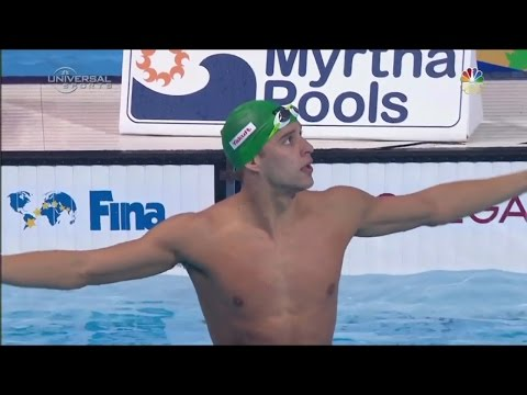Chad Le Clos Remains 100 Fly Champ - Universal Sports
