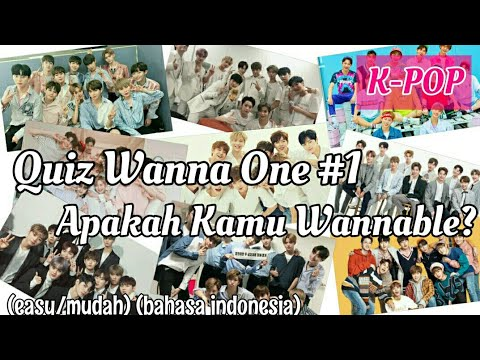 Quiz Wanna One #1 : Apakah Kamu Wannable? (Mudah) Bahasa Indonesia | NAL Channel [Baca Pin Komentar]