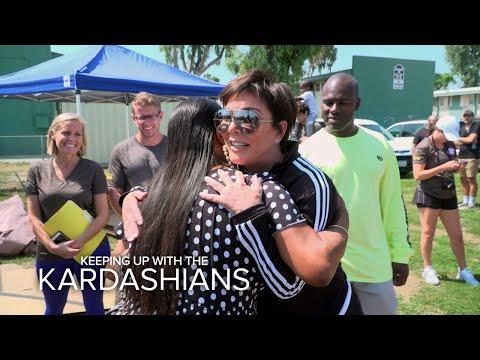 KUWTK   Kris Jenner Helps to Restore Watts Community Center   E!