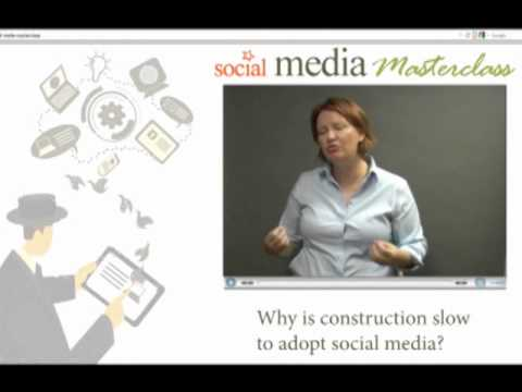 How to use social media in construction