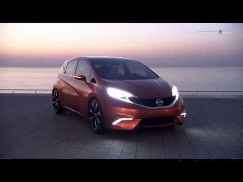คลิปพรีวิวภายนอก Nissan Invitation Concept Exterior คันต้นแบบของ Nissan Note