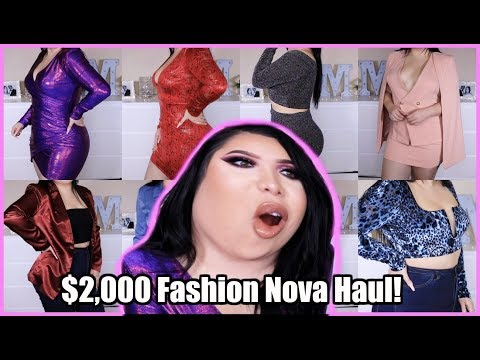 $2,000 Fashion Nova Try-On Haul!