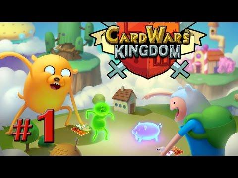 Играть онлайн бесплатно в игру карточные войны время приключений на