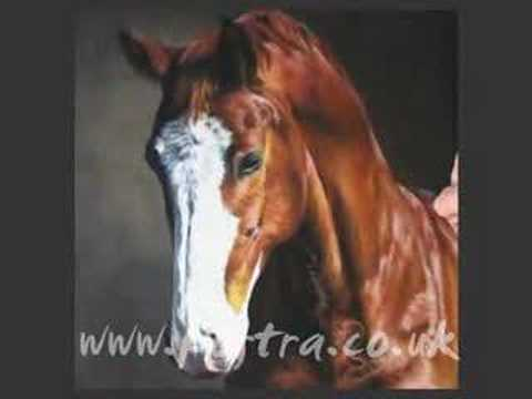 speed painting horse