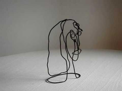Pedro Mairal - Figuras en alambre 1