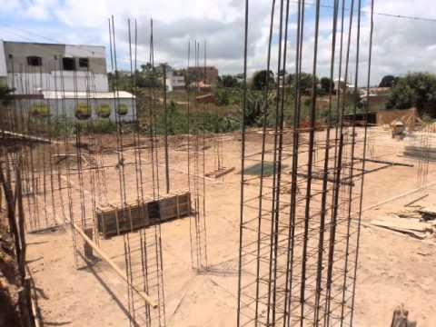 Construção Igreja Nova Aliança, em Tiangua...