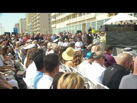Navy SEAL monument unveiled at the Oceanfront