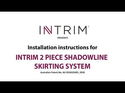 Intrim Mouldings | How to Install the 2 Piece Shadowline System