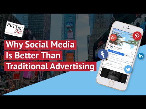 Why Social Media Is Better Than Traditional Advertising