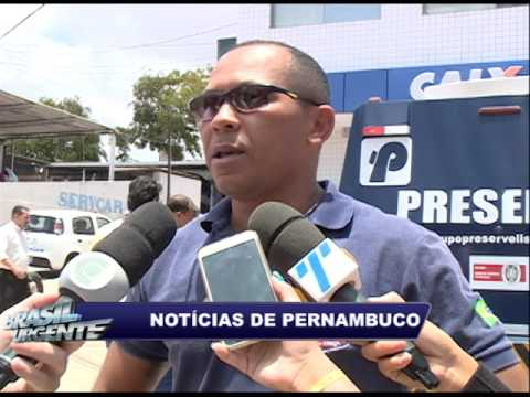 Troca de tiros durante tentativa de assalto a carro forte, na CEF de Ponte dos Carvalhos
