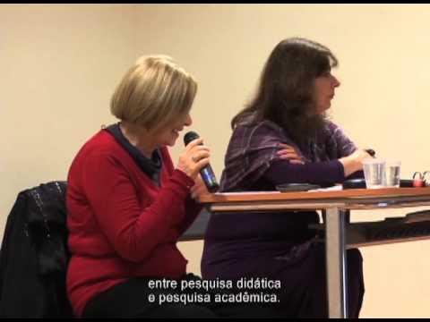 Encontro com Delia Lerner 2012. Parte 1.
