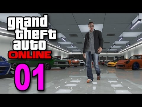 Grand Theft Auto 5 Multiplayer – Part 1 – Welcome to Online (GTA Let's Play / Walkthrough / Guide)