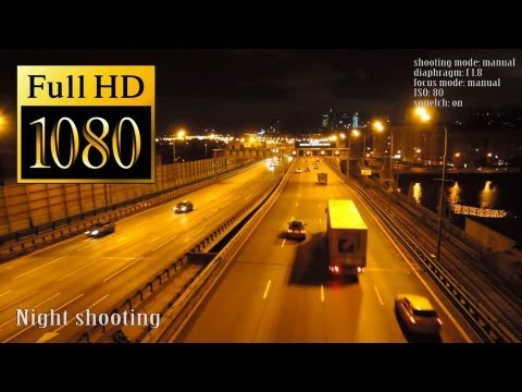 Nikon Coolpix P330 video test (night shooting, macro, landscape)