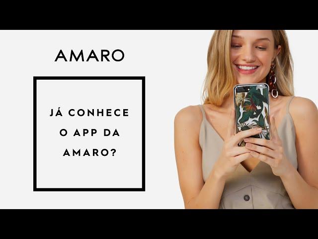 AMARO App - Baixe o aplicativo da AMARO e compre online - Amaro