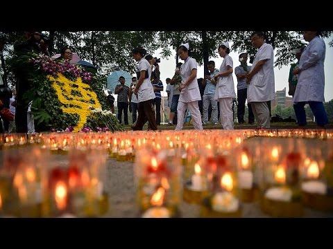 Κίνα: Ώρα πένθους και απόδοσης ευθυνών για την καταστροφή στην Τιαντζίν