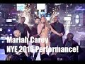 Mariah Carey Messed Up Performance - 2016 New Year's Eve