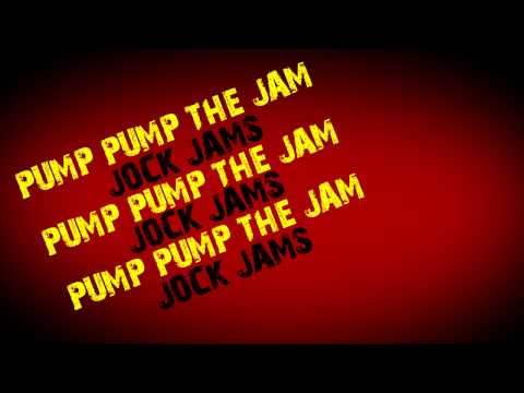 Jock Jams - Lets Get Ready To Rumble (Typography)