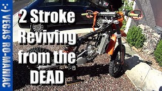 9. TRASHED CRAIGSLIST 2007 KTM 250 XC 2 STROKE - Reviving from the DEAD