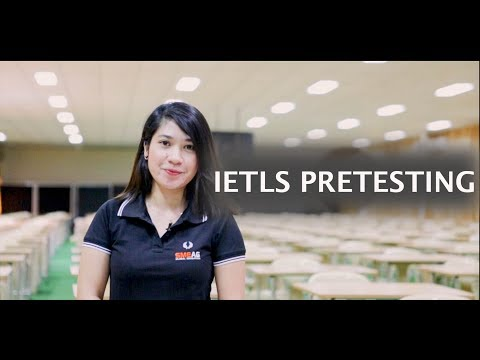 [Learning English] English Academy in Cebu, Philippines : IELTS Pretesting Video
