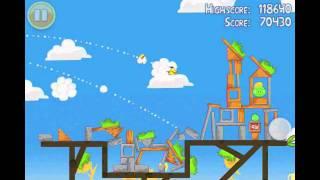 Angry Birds Seasons Summer Pignic Level 28 Walkthrough 3 Star