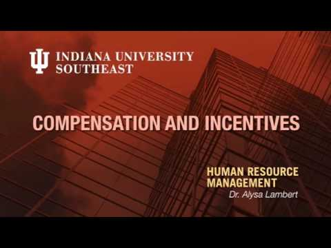 hr - This episode focuses on different types of employee incentive plans. Indiana University Southeast Instructor: Alysa Lambert.