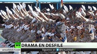 Un ataque terrorista en un desfile militar deja al menos 25 muertos