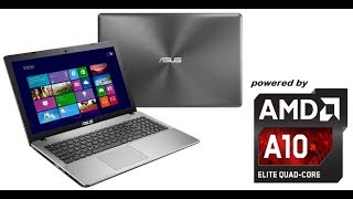 Asus Notebook X550DP Unboxing