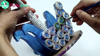 How to make an amazing showpiece/centre piece for home decoration with old and waste Newspaper. Find more awesome Newspaper Crafts: https://goo.gl/XP9XxZ Thi...