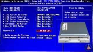 Vídeo Aula de Hardware Básico - Configurar BIOS SETUP - www.professorramos.com - Parte1