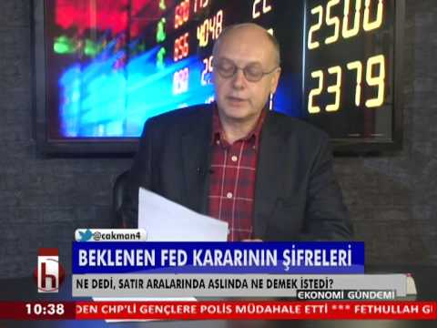 Dr. Cüneyt Akman'la Piyasalar: FED kararının şifreleri