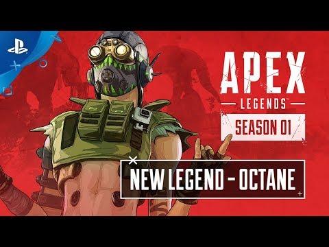 Apex Legends - Meet Octane: Character Trailer | PS4 - Thời lượng: 53 giây.