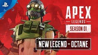 Apex Legends - Meet Octane: Character Trailer | PS4